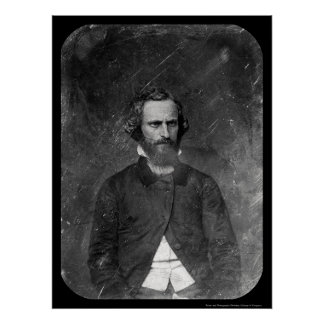 Clement C. Clay Daguerreotype 1844 Poster