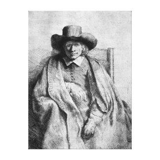Clement de Jonghe, 1651 Canvas Print