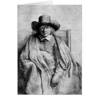 Clement de Jonghe, 1651 Card