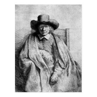 Clement de Jonghe, 1651 Postcard