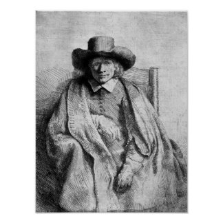 Clement de Jonghe, 1651 Poster