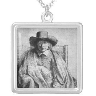 Clement de Jonghe, 1651 Square Pendant Necklace