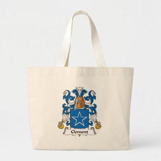 Clement Family Crest Canvas Bag