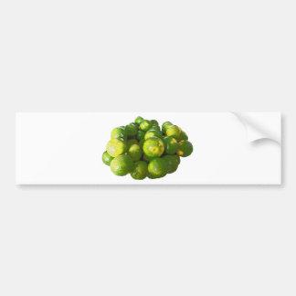 Clementina fresca pegatina para auto