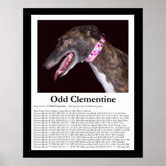 Clementina impar - razas que ganan impresiones