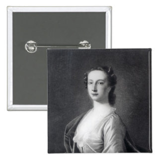 Clementina Walkinshaw, c.1760 2 Inch Square Button