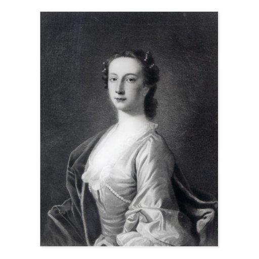 Clementina Walkinshaw, c.1760 Tarjeta Postal