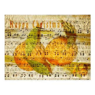 Clementinas queridas postal