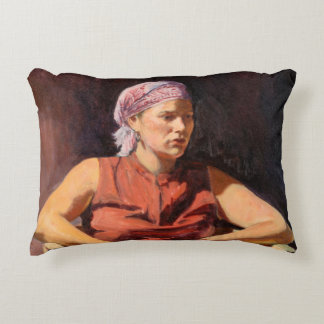 Clementine 2004 accent pillow