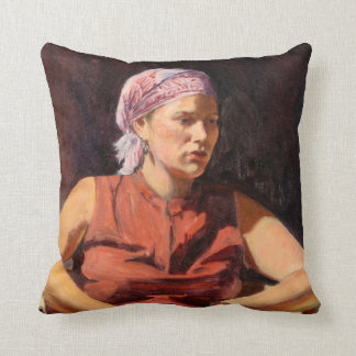 Clementine 2004 throw pillow