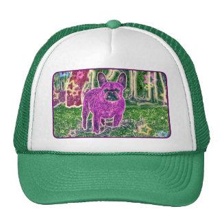 Clementine art trucker hat