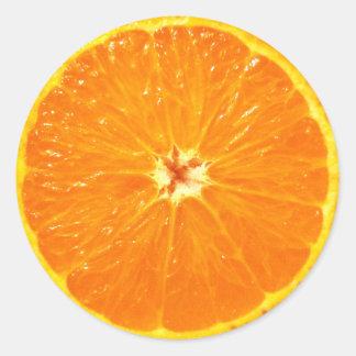 Clementine Classic Round Sticker