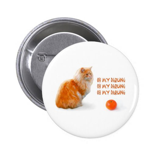clementine love pinback buttons
