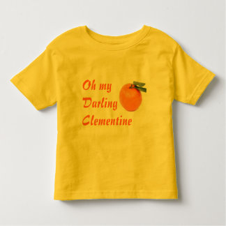 clementine toddler shirt