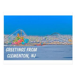 Clementon, NJ Postcard