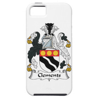 Clements Family Crest iPhone 5 Case