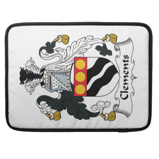 Clements Family Crest MacBook Pro Sleeves