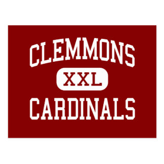 Clemmons - Cardinals - Middle - Winston Salem Postcard