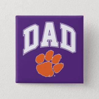 Clemson Dad Button
