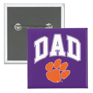 Clemson Dad Button