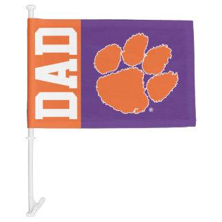 Clemson Dad Car Flag