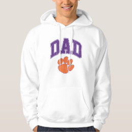 Clemson Dad Distressed Hoodie