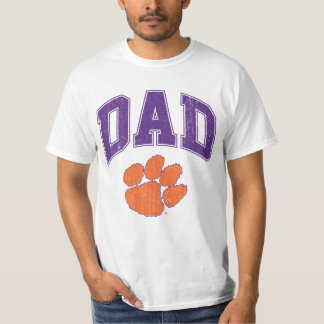 Clemson Dad Distressed T-Shirt