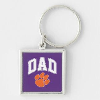 Clemson Dad Keychain