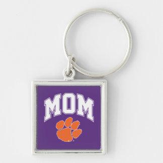 Clemson Mom Keychain