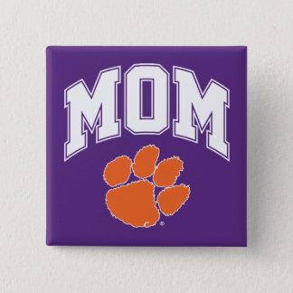 Clemson Mom Pinback Button