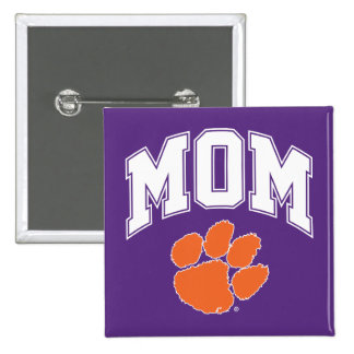 Clemson Mom Pinback Button
