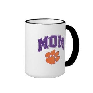 Clemson Mom Ringer Mug