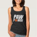 Clemson Paw Power Basic Tank Top
