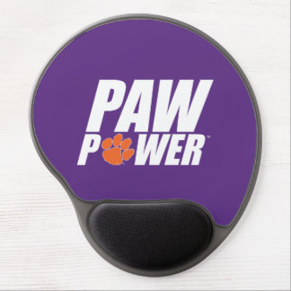 Clemson Paw Power Gel Mouse Pad