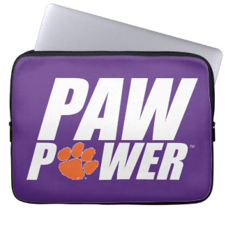 Clemson Paw Power Laptop Computer Sleeves