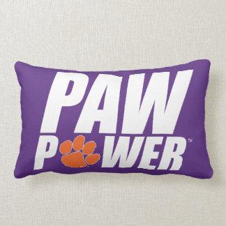 Clemson Paw Power Lumbar Pillow