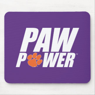 Clemson Paw Power Mouse Pad