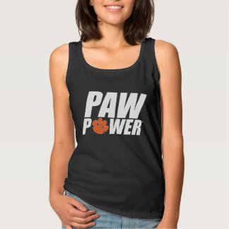 Clemson Paw Power Tank Top