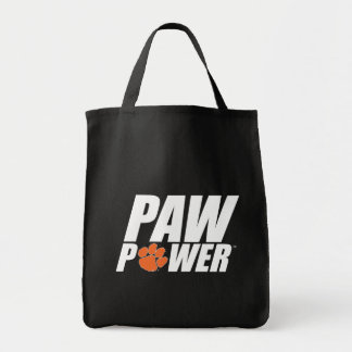 Clemson Paw Power Tote Bag