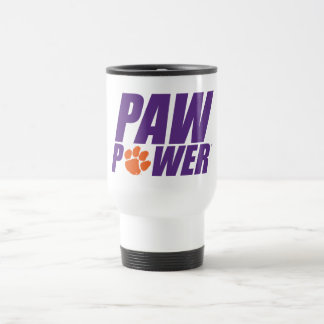 Clemson Paw Power Travel Mug