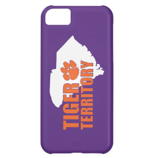 Clemson Tiger Territory Cover For iPhone 5C