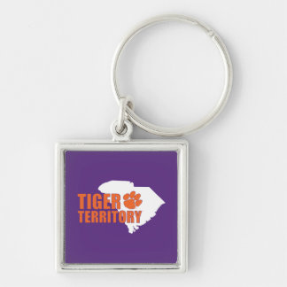 Clemson Tiger Territory Keychain