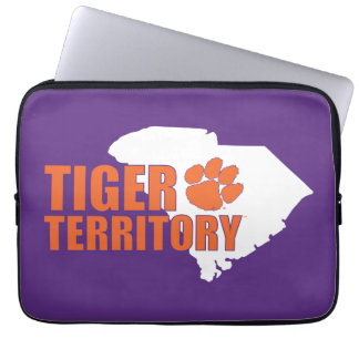Clemson Tiger Territory Laptop Computer Sleeve