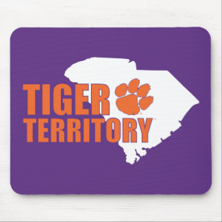 Clemson Tiger Territory Mouse Pad
