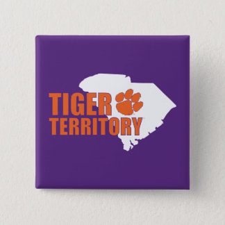 Clemson Tiger Territory Pinback Button