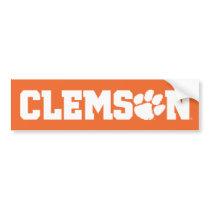 Clemson Tigers Bumper Sticker