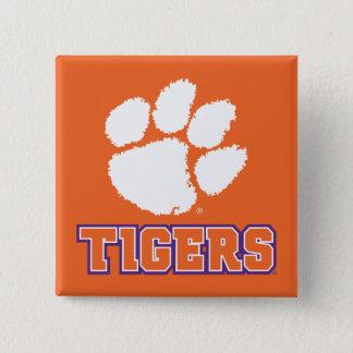 Clemson Tigers Button