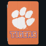 """Clemson Tigers iPad Air Cover<br><div class=""""desc"""">Check out these new Clemson University designs and products! At Zazzle, you can get all of the best Clemson gear to show off your Tiger Pride. All of these products are customizable with your name, class year, or club. They make perfect gifts for the Clemson student, alumni, family, friend, or...</div>"""