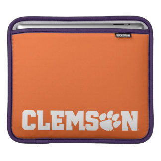 Clemson Tigers iPad Sleeve