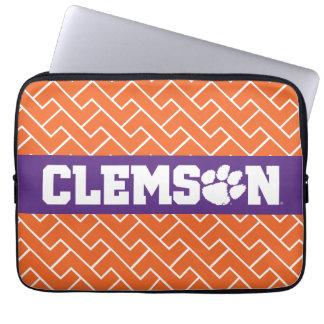 Clemson Tigers Laptop Computer Sleeve